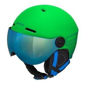 Etape Speedy PRO dětská lyžařská helma - zelená matná 55-58