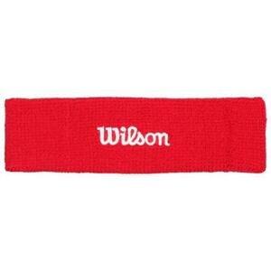 Wilson Headband čelenka červená