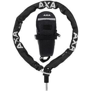 Axa Plugin Řetěz Rlc 100/5,5 Černá + Podsedlová Brašna