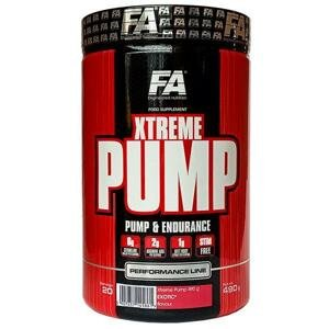 Fitness Authority Xtreme Pump 490 g - exotické ovoce