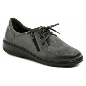 Axel AXCW129 šedé dámské zdravotní polobotky boty šíře H - EU 38