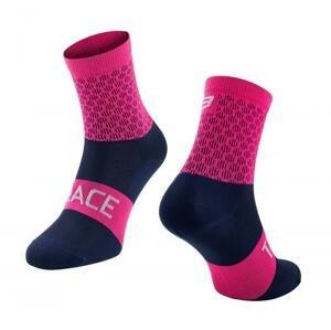 Force ponožky TRACE růžovo-modré - růžovo-modré L-XL/42-47