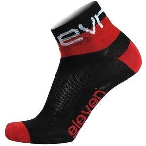 Eleven Howa EVN černé/červené cyklistické ponožky - S (UK 2-4)