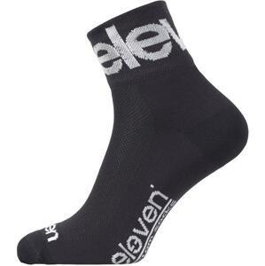 Eleven Howa TWO GREY šedé/bílé cyklistické ponožky - M (UK 5-7)