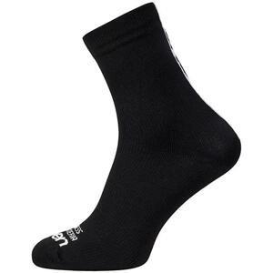 Eleven Strada černé cyklistické ponožky - M-L (UK 6-9)