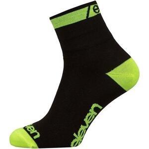 Eleven Howa EVN fluo/černé cyklistické ponožky - S (UK 2-4)