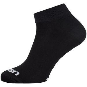 Eleven Luca BASIC černé cyklistické ponožky - XL (UK 11-13)