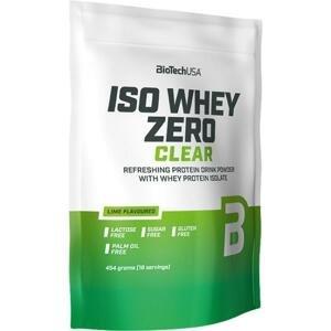 BioTech Iso Whey Zero Clear 454 g - broskvový čaj
