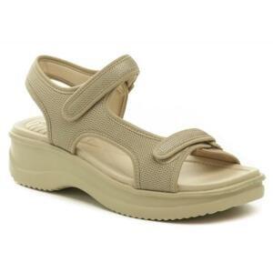Azaleia 320-323 béžové dámské sandály - EU 39
