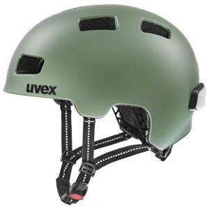 Uvex City 4, Moss Green Mat 2021 cyklistická helma - 55-58