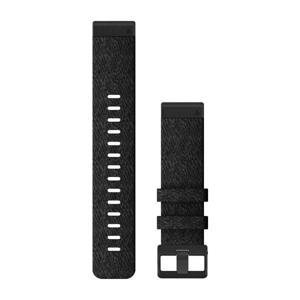 Garmin Řemínek pro fenix6 QuickFit 22, nylonový, černý s černou přezkou