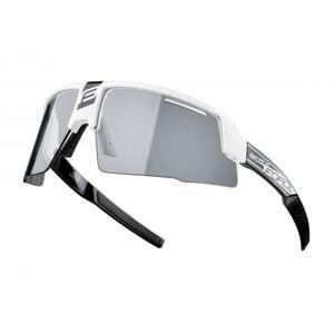 Force IGNITE bílo-černé, fotochrom. skla cyklistické brýle