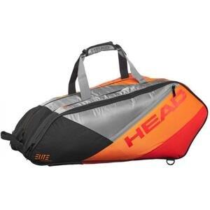 Head ELITE 12R MONSTERCOMBI - ANOR Tenis taška na rakety - Oranžová