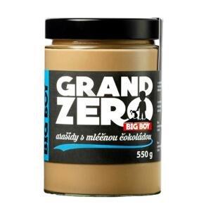 Big Boy Arašídový krém Grand Zero 550g - mléčná čokoláda