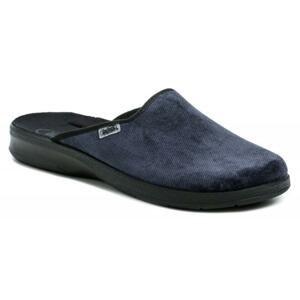 Befado 548M018 modré pánské papuče - EU 42