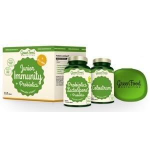 GreenFood Junior Immunity Prebiotics + PillBox