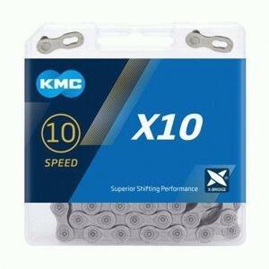 Kmc X10 šedý BOX řetěz
