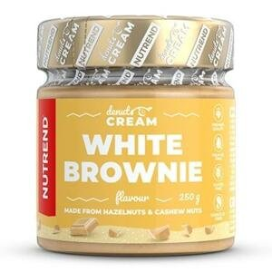 Nutrend Denuts Lahodný ořechový krém White Brownie 250g
