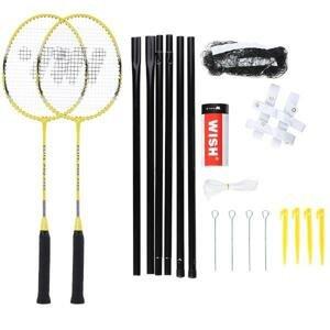 WISH Sada raket na badminton Alumtec 4466, žlutá