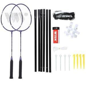 WISH Sada raket na badminton Alumtec 4466, fialová