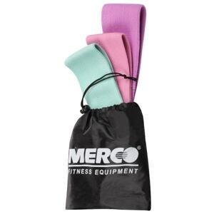 Merco Yoga Hip Band Set odporové pásy - 1 balení