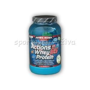 Aminostar Actions Whey Protein 85 1000g - Jahoda