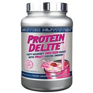 Scitec Protein Delite 1000g POUZE bílá čokoláda - jahoda (VÝPRODEJ)