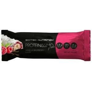 Scitec Proteinissimo Prime Bar 50g - čokoláda - vanilka