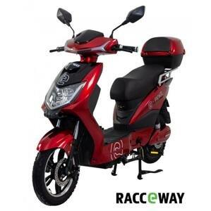 RACCEWAY Elektroskútr E-fichtl červený-lesklý s baterií 12Ah + sleva 1000,- na příslušenství - 250