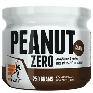 Extrifit Peanut Zero 250g - čokoláda