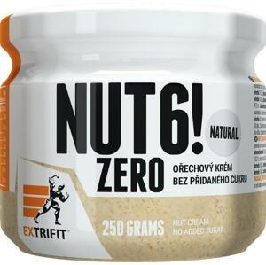 Extrifit Nut 6! Zero 250g - slaný karamel