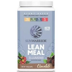 Sunwarrior Lean Meal Illumin8 720g - čokoláda