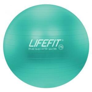 Lifefit Gymnastický míč Anti-burst 75 cm tyrkysový