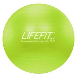 Lifefit Gymnastický míč Anti-burst 85 cm zelený