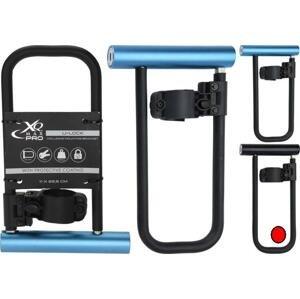 Xqmax KO-8EN000020cern Zámek na kolo tyčový U-LOCK 11 x 22,5 cm černá