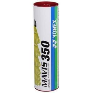 Yonex Mavis 350 badmintonové míčky červená - tuba 6 ks