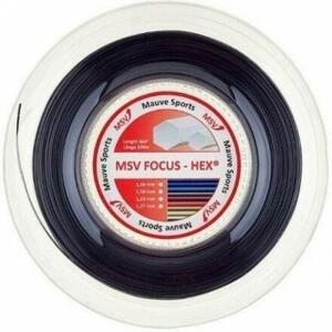 MSV Focus HEX tenisový výplet 200 m černá - 1,18