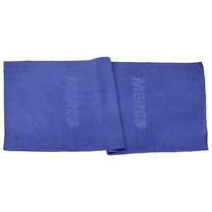 Merco Suede s logem ručník - 40x80