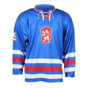 Merco Replika ČSSR 1976 hokejový dres modrá - S
