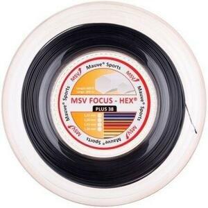 MSV Focus HEX Plus 38 tenisový výplet 200 m černá - 1,20