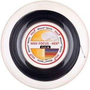 MSV Focus HEX Plus 38 tenisový výplet 200 m černá - 1,30