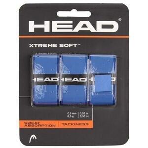 Head XtremeSoft 3 overgrip omotávka tl. 0,5 mm modrá - 3 ks