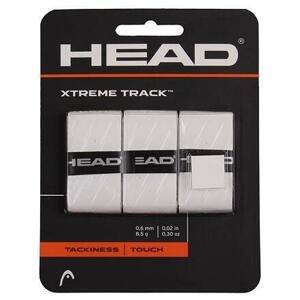 Head XtremeTrack overgrip omotávka tl. 0,6 mm bílá - 3 ks