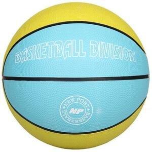 New Port Print basketbalový míč žlutá - č. 7
