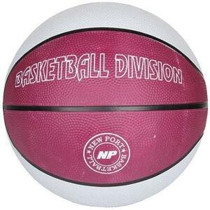 New Port Print basketbalový míč bílá - č. 7