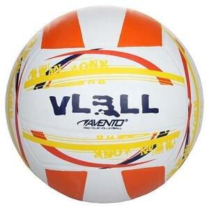 Avento Beach Zone beachvolejbalový míč bílá-oranžová - č. 5