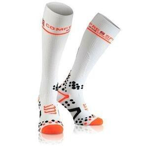 CompresSport Full Socks V2.1 kompresní podkolenky bílá - 3L