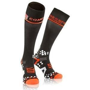 CompresSport Full Socks V2.1 kompresní podkolenky černá - 1S