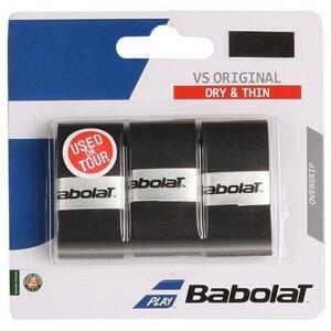 Babolat VS Original overgrip omotávka tl. 0,4 mm černá - 3 ks