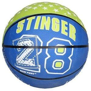 New Port Print Mini basketbalový míč zelená - č. 3